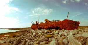 The wreck of the plassy